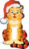 Tigre divertente di vettore Fotografia Stock