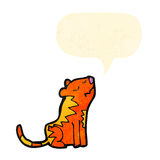 tigre dos desenhos animados Foto de Stock