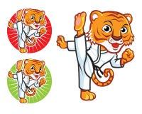Tigre du Taekwondo illustration libre de droits