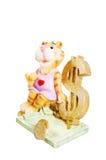 Tigre. El juguete. Fotos de archivo