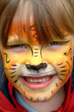 Tigre inocente fotografía de archivo libre de regalías