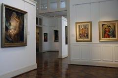 Tigre muzeum sztuki Obrazy Royalty Free