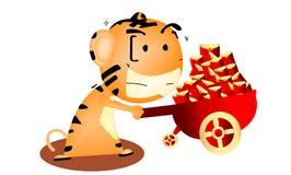 tigre pequeno Fotografia de Stock Royalty Free