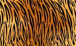 Tigre Repetição da textura do teste padrão sem emenda ilustração do vetor