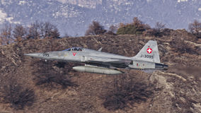 Tigre suíço de F-5E Foto de Stock Royalty Free