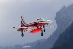 Tigre suizo de F-5E Imagenes de archivo