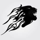 Tigre tribale Fotografia Stock
