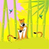 Tigres stock de ilustración