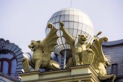 Tigres avec des ailes Image libre de droits