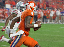 Tigres de Clemson du football de NCAA à la cuvette de fiesta Photo stock