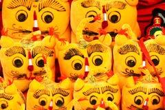 Tigres de pano Fotografia de Stock Royalty Free