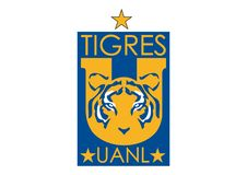 Tigres UANL Logo 2012. Collection of vector logos of the most famous football teams in the world. vector format available AI illustrator royalty free illustration