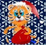 Tigresa del Año Nuevo stock de ilustración