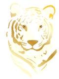 tigrgold Zdjęcie Stock