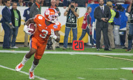 Tigri di Clemson di calcio del NCAA al Fiesta Bowl Fotografia Stock Libera da Diritti