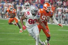 Tigri di Clemson di calcio del NCAA al Fiesta Bowl Fotografia Stock