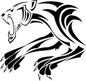 Tigris. This picture is a line art of tiger Royalty Free Stock Image