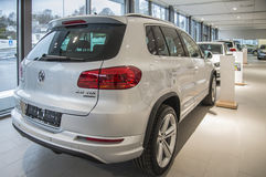 Tiguan R exclusif 140 TDI DSG Images stock