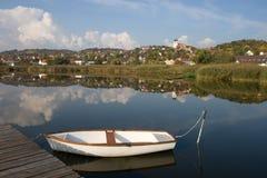 tihany内在的湖 免版税库存图片