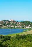 tihany匈牙利的横向 库存照片