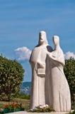 tihany匈牙利的雕象 库存图片