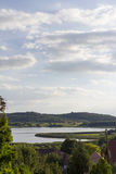 Tihany και η εσωτερική λίμνη στοκ εικόνες με δικαίωμα ελεύθερης χρήσης