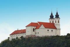 tihany abbey Royaltyfri Bild