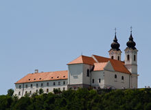 tihany abbey Royaltyfria Foton
