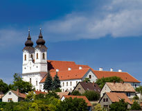 Tihany Abbey Stock Photo