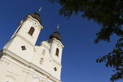 tihany abbey Arkivfoton