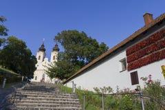 tihany abbey Arkivfoto