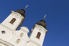 tihany abbey Arkivbilder
