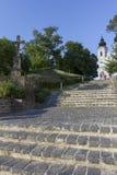 tihany abbey Royaltyfri Foto