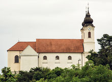 Tihany Abbey is a Benedictine monastery established at Tihany in Royalty Free Stock Photos