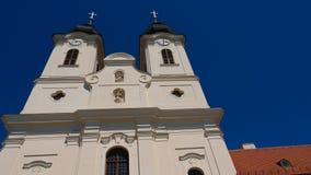 Tihany-Abtei auf Plattensee Lizenzfreies Stockbild