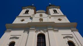 Tihany-Abtei auf Plattensee - einer der meisten wichtigen Aspekte Stockfoto
