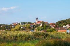 Tihany-Abtei nahe Plattensee, Ungarn Stockbild