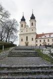 Tihany-Abtei in Ungarn Stockbild