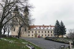 Tihany-Abtei in Ungarn Stockbilder