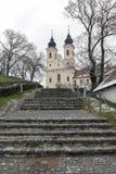 Tihany-Abtei in Ungarn Stockfotos