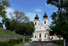 Tihany Abtei, Ungarn Lizenzfreies Stockbild