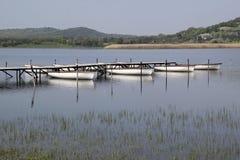 tihany balaton的湖 免版税库存照片