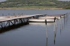 tihany balaton的湖 库存图片