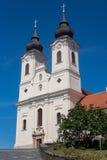 Tihany, Benediktinerabtei Stockbilder