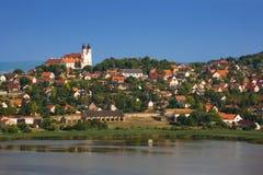 Tihany Dorf Stockfotos