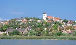 Tihany, el lago Balatón, Hungría Imagen de archivo