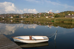 Tihany - inner lake Royalty Free Stock Image