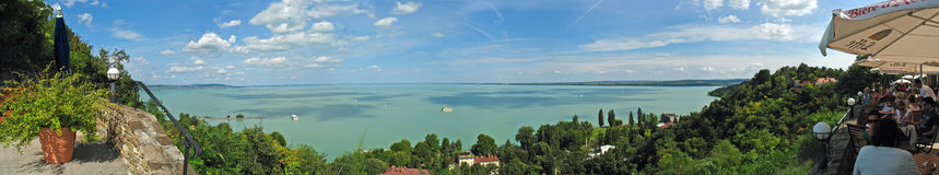 Tihany - inner lake Stock Images