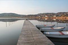 tihany inre lake Royaltyfri Bild