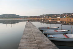 Tihany - lac intérieur Image libre de droits